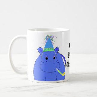 Hippo Birthday Big Fella Coffee Mug