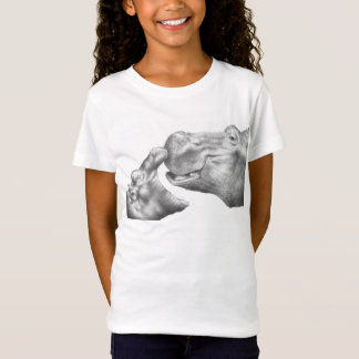 Hippo & Calf Kids T-Shirt