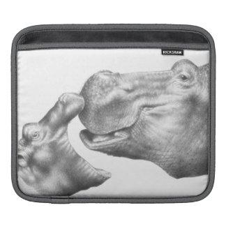 Hippo & Calf Rickshaw Sleeve