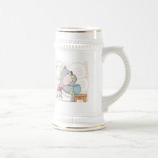 Hippo Cook Coffee Mugs
