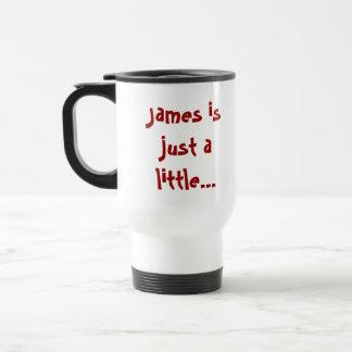 Hippo Crazee on light colors Coffee Mug