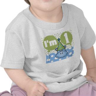 Hippo First Birthday Tshirt