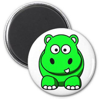 Hippo Green Magnet