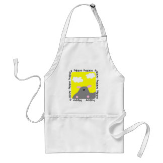 Hippo Happy Tshirts and Gifts Aprons
