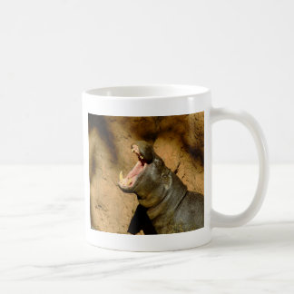 hippo hungry coffee mug