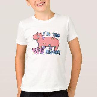 Hippo I'm the Big Sister TShirt