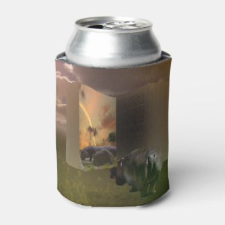 Hippo In Love With Story Book, Can Stubby Holder Can Cooler