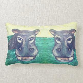 Hippo Lumbar Pillow