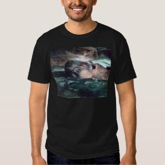 Hippo  Mens Tshirt