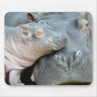 Hippo Mouse Mat