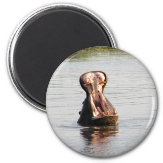 Hippo mouth (round or square magnet)