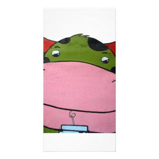 Hippo Photo Greeting Card