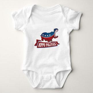 Hippo Politics Baby Bodysuit