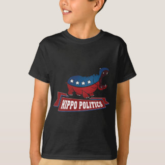 Hippo Politics T-Shirt