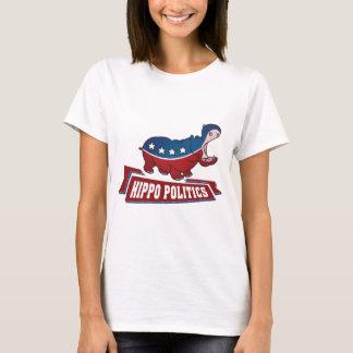 Hippo Politics T-Shirt