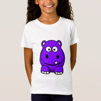 Hippo Purple T-Shirt