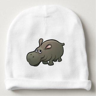 Hippo Safari Animals Cartoon Character Baby Beanie
