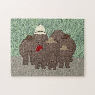 Hippo Safari Puzzle