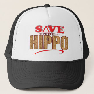 Hippo Save Trucker Hat
