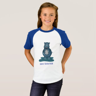 Hippo Scratch T-shirt