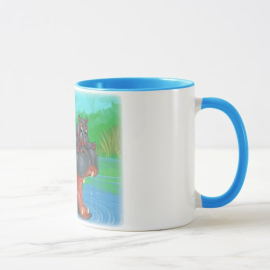 Hippo Splash Mug