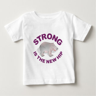 Hippo, strong is the new hip t-shirts