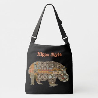 Hippo Style Crossbody Bag