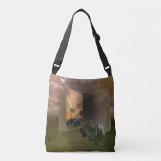 Hippo_The_Love_Story,_Full_Print_Cross_Body_Bag. Crossbody Bag