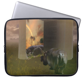 Hippo, The Untold Love Story, Laptop Sleeve