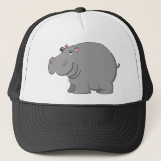 hippo trucker hat