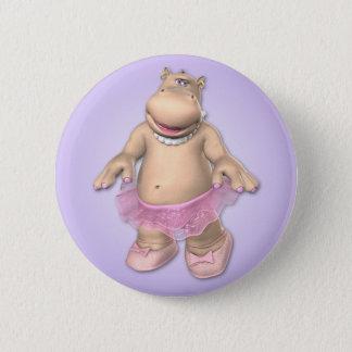 Hippo Tutu Button