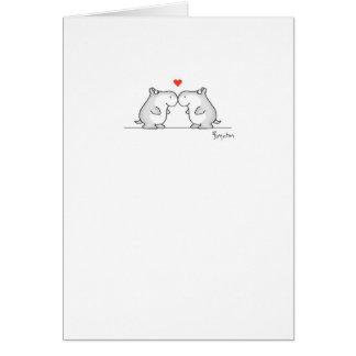 HIPPO VALENTINE'S DAY Valentines by Boynton Greeting Card