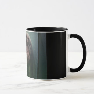 Hippopotamus Abstract #2 Mug