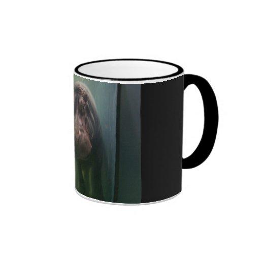Hippopotamus Abstract #2 Coffee Mug
