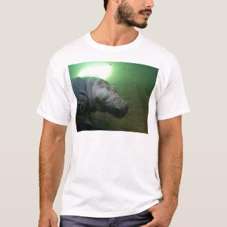 Hippopotamus Abstract T-Shirt