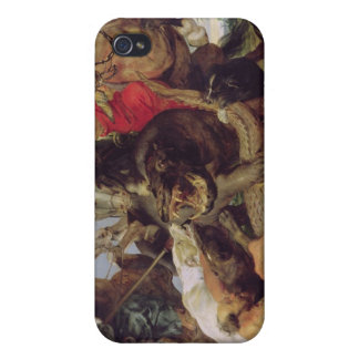 Hippopotamus and Crocodile Hunt, c.1615-16 iPhone 4 Case