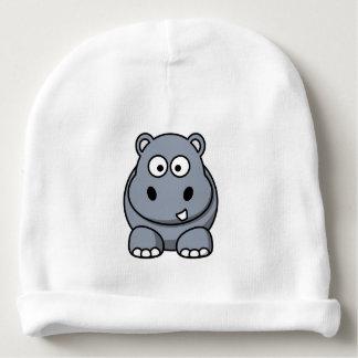 hippopotamus baby beanie