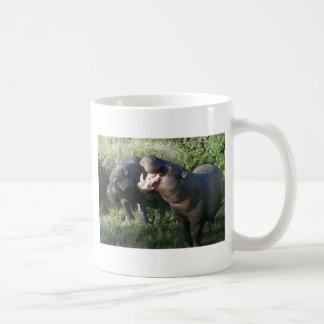 Hippopotamus Basic White Mug