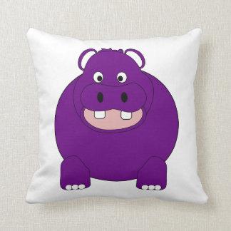 Hippopotamus Cushion