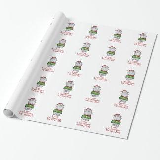 Hippopotamus for Christmas - Cute Hippo Design Wrapping Paper
