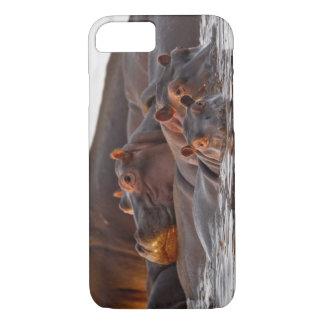 Hippopotamus, Hippopotamus amphibius, Lake iPhone 8/7 Case