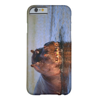 Hippopotamus in River Barely There iPhone 6 Case