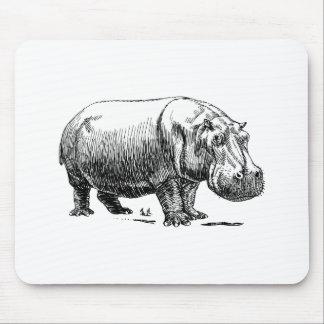 Hippopotamus Mouse Mat