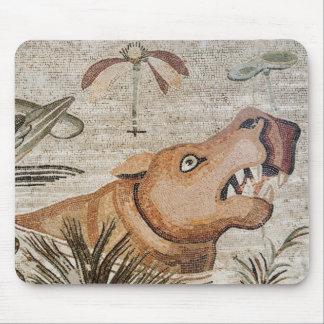 Hippopotamus, Nile mosaic, House of the Faun Mouse Mat