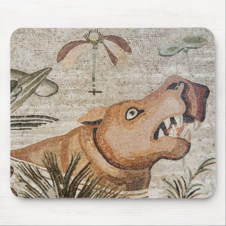 Hippopotamus, Nile mosaic, House of the Faun Mouse Pad