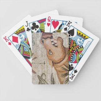 Hippopotamus, Nile mosaic, House of the Faun Poker Deck