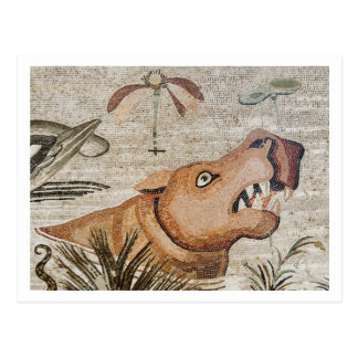 Hippopotamus, Nile mosaic, House of the Faun Postcard
