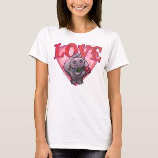 Hippopotamus Valentine's Day T-Shirt