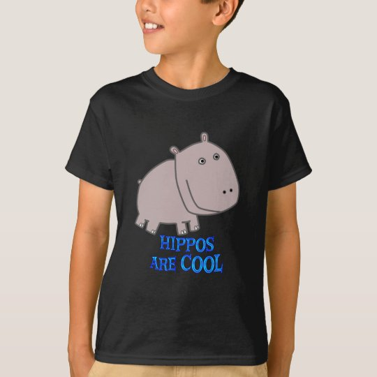 Hippos are COOL T-Shirt