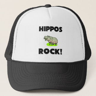 Hippos Rock Trucker Hat